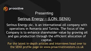 serinus-energy-lon-senx-calvin-brackman-vice-president-external-relations-and-strategy-presenting-at-the-proactive-one2one-virtual-forum