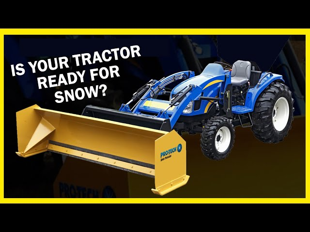 Pro-Tech Compact Sno Pusher - Snow Pusher for Compact Tractors