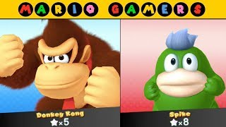 Mario Party 10 - Airship Central - Donkey Kong vs Spike   MarioGamers