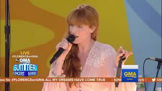 Florence + The Machine   Hunger (Live At GMA   Summer Concert Series 2018)