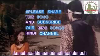 Aa Gale Lag Jaa full karaoke track with lyrics - YouTube