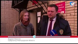 53 секунды: выборы Президента РФ, голосование Андрея Никитина и Елены Писаревой