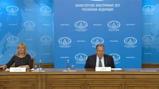Итоговая пресс-конференция С.Лаврова за 2017 год