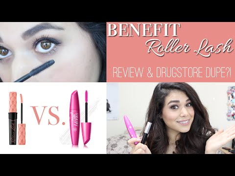 Benefit Roller Lash Mascara Review + DRUGSTORE DUPE?!