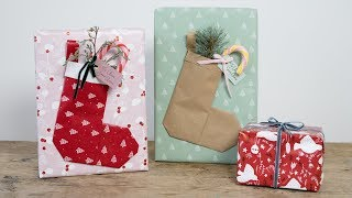 DIY : Gift Wrapping With Extra Features By Søstrene Grene