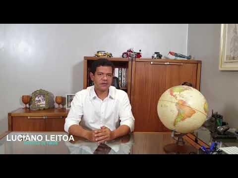Prefeito Luciano Leitoa prorroga decreto com medidas de enfrentamento à COVID-19