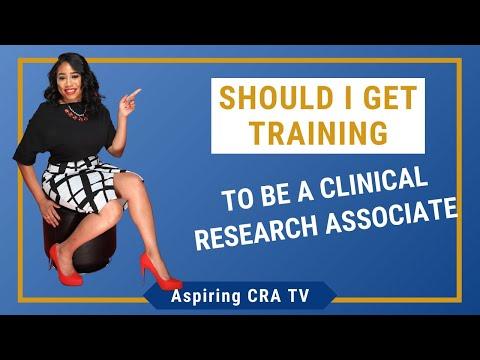 Should I Get Training To Be A CRA (Clinical Research Associate)?     Aspiring CRA TV