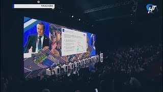 Андрей Никитин в Москве рассказал о масштабах кампании по ремонту дорог в Новгородской области
