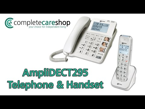 Video Overview Of The AmpliDECT295