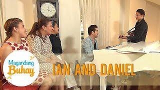Daniel Padilla and Ian Veneracion showcase their talents | Magandang Buhay