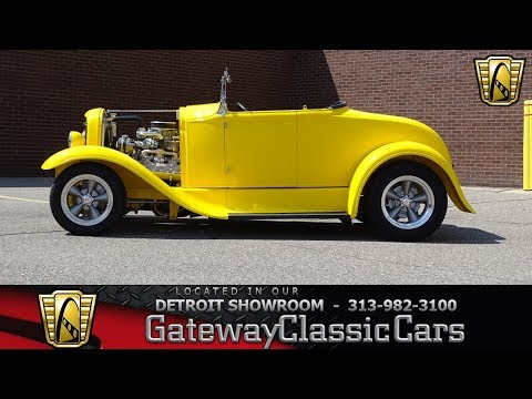Video of Classic 1930 Ford Model A located in Michigan Offered by Gateway Classic Cars - Detroit - LTQR