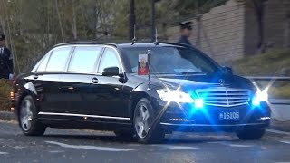 安倍総理大臣、プーチン大統領警護車列、7連発!Prime Minister Shinzo Abe & President Putin
