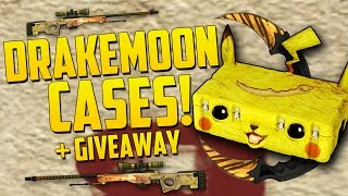 ALL NEW CASES! - Drakemoon Case Opening & Giveaway