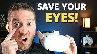 Save Your Eyes! - Best Oculus Quest 2 Setup Tips To Reduce Eye Strain