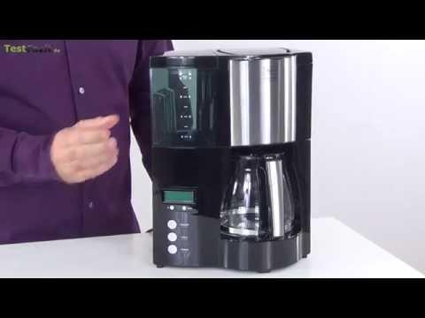 Test: Melitta Optima Timer Kaffeemaschine