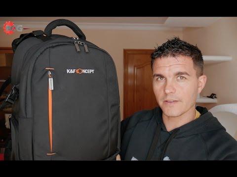 Review mochila fotográfica K&F Concept