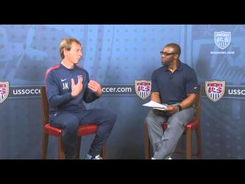 U.S. Soccer Interview with Jurgen Klinsmann: Style of Play
