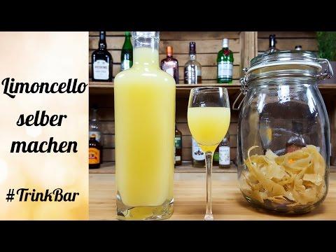 Limoncello selber machen - Likör - Rezept - TrinkBar