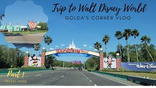 Trip to Walt Disney World Part 1