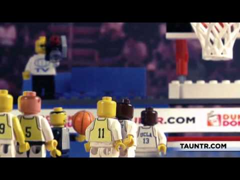 Spectacular Lego Reenactments Of March Madness Classics