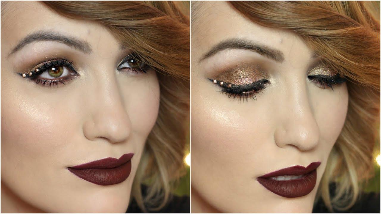 BOLD LIPS  Maquillaje para fiesta
