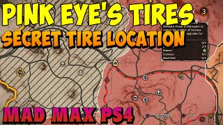 Mad Max - Pink Eye's Secret Tire Location History Relic Photo - Gameplay PS4