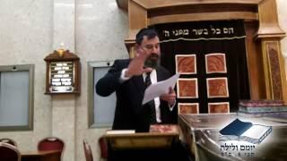 הרב גדעון זלצברג רב המרכז בשיעור על מקור הקדיש
