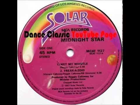 Midnight Star - Wet My Whistle (Extended)