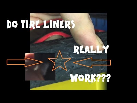 Do Bicycle Tire Liners Work???