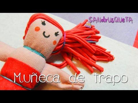 Como confeccionar muñecas de trapo