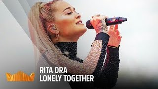 Rita ora crying while singing Lonely Together | Tribute to Avicii