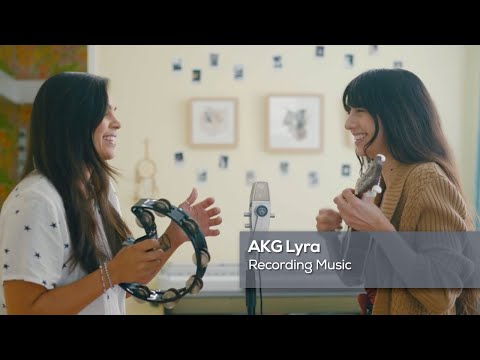 AKG Lyra: Recording Music