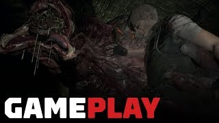 Resident Evil 2 - Leon in the Sewers Gameplay