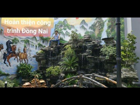 Thác nước đẹp - Hồ cá koi ở Đồng Nai LH: 0901353909 để được tư vấn và thiết kế miễn phí.