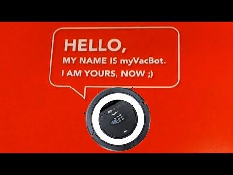 NEU: myVacBot B100 Saugroboter von myRobotcenter