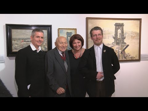 Várnegyed Galéria - OstROMképek - video preview image