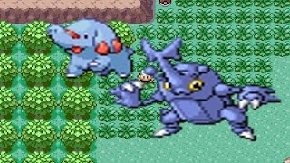 Donphan  - (Pokémon) - How to find Heracross and Phanpy in Pokemon Emerald