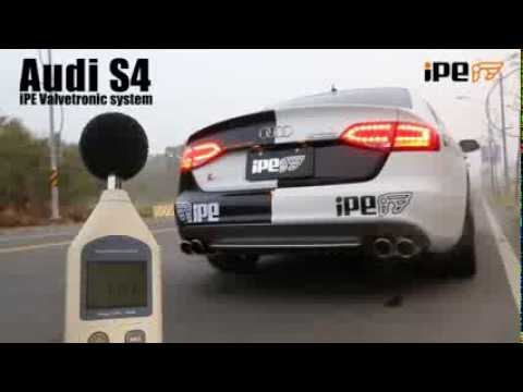 The iPE Exhaust for Audi S4 B8 / B8.5