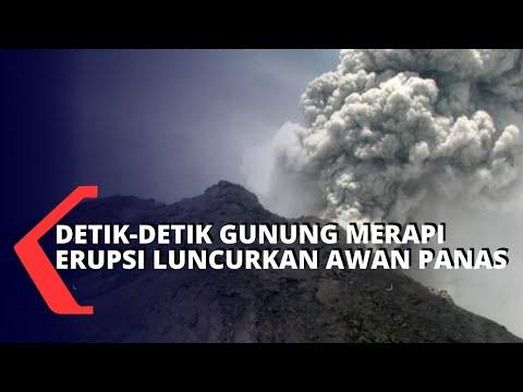 Detik-detik Gunung Merapi Erupsi, Awan Panas Meluncur 44 Kali