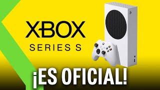 CONFIRMADO: XBOX SERIES S se une a Xbox Series X - ASÍ es la consola MÁS PEQUEÑA de Microsoft