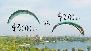 Kitesurfing Value Experiment