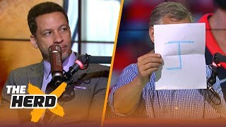 Chris Broussard joins Colin for some 'Big J' NBA free agency journalism | NBA | THE HERD