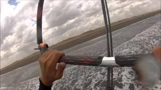 preview picture of video 'Kite en Monte Hermoso 2.0'