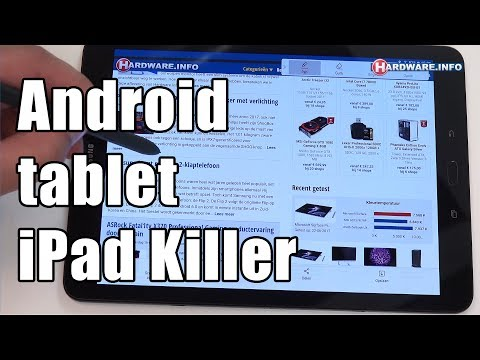 Samsung Galaxy Tab S3 high-end android tablet review – Hardware.Info TV (4K UHD)