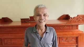 Bàn Giao Án Gian Thờ Cột 12 Gỗ Hương Đá cho Bác Thực (16 triệu)