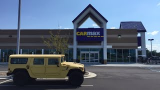I Tried to Sell My Hummer to CarMax