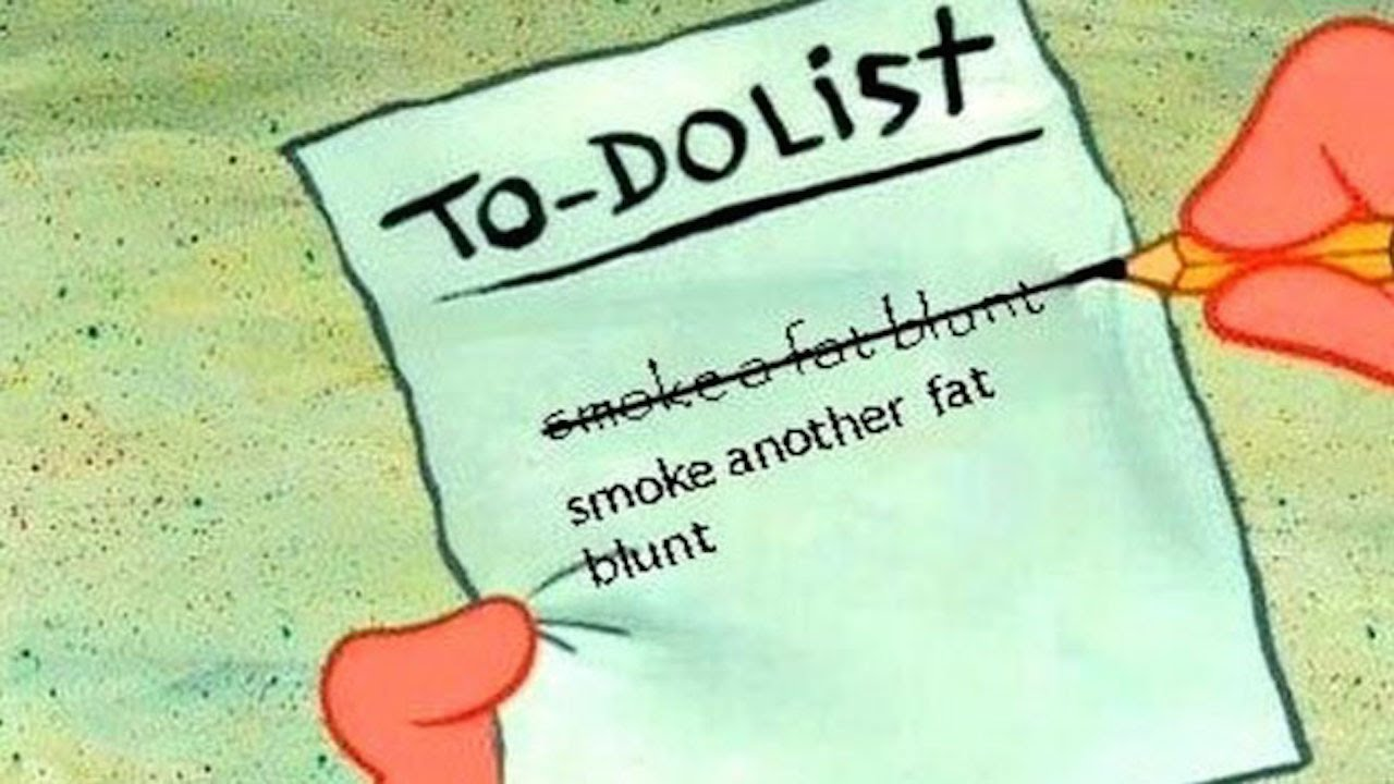 Stoner's To-Do List Posted Online By Cops thumbnail
