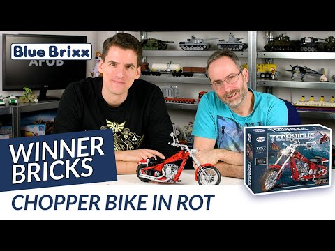 Chopper Bike in rot