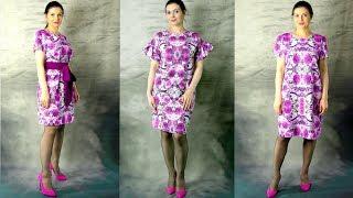 Обзор платьев с примеркой. Платье на любую фигуру