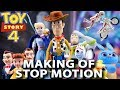 Toy Story 4 Toys Stop Motion Trailer,  Making Of